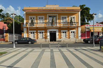Photograph - Guayanilla City Hall by Ricardo J Ruiz de Porras