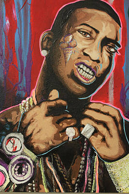 Spagnola Mixed Media - Gucci Mane by Dustin Spagnola