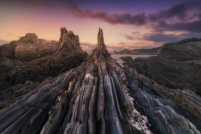 Coastal Landscape Photograph - Gueirua Needles by Carlos F. Turienzo