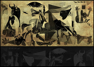 Guernica 14 Art Print by Filippo B