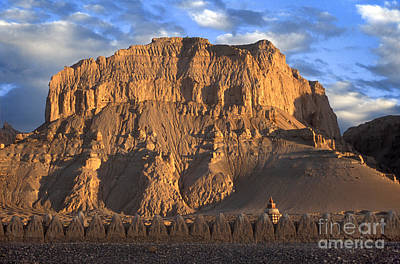 Photograph - Guge Style Chortens Tibet by Craig Lovell