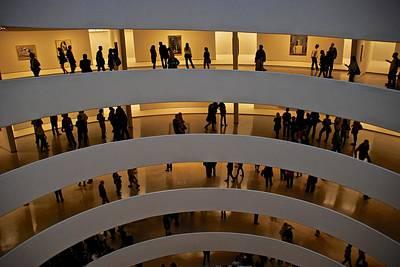 Photograph - Guggenheim Art Museum by Eric Tressler