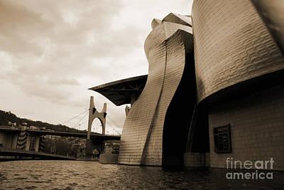 Photograph - Guggenheim Bilbao by Isusko Goldaraz