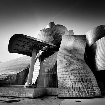 Architect Photograph - Guggenheim Bilbao by Nina Papiorek
