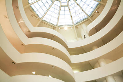 Photograph - Guggenheim Curves by Liz Leyden