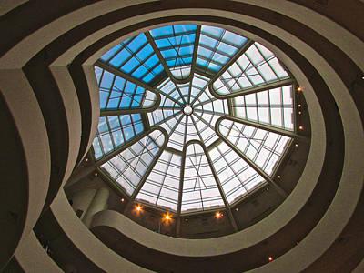 Photograph - Guggenheim Dome by Steven Lapkin
