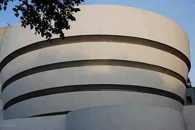 Photograph - Guggenheim In The Round by Rob Hans