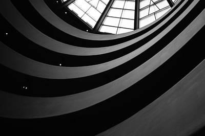 Guggenheim Inside 2 Art Print by Becky Kozlen
