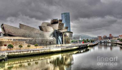 Guggenheim Museum Bilbao  Art Print by Ines Bolasini