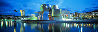 Sculptural Photograph - Guggenheim Museum, Bilbao, Spain by Panoramic Images