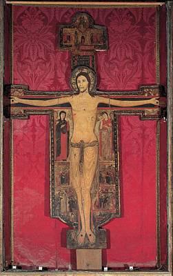 Guglielmo, Crucifix, 1138, 12th Art Print
