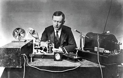 1874 Photograph - Guglielmo Marconi by Universal History Archive/uig