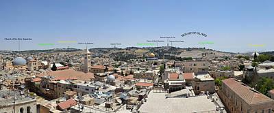 Guide To The Ancient City Of Jerusalem Original by Yosef Erpert