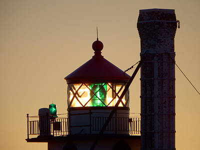 Duluth Photograph - Guiding Light by Alison Gimpel