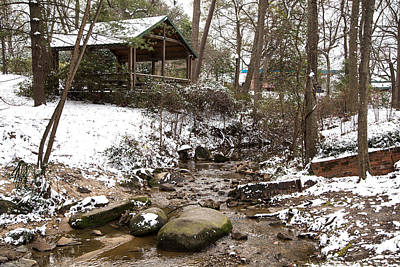 Photograph - Guignard Park In Winter by Charles Hite