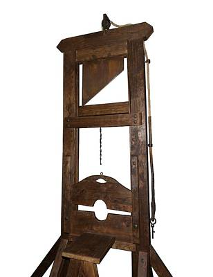 Guillotine From Spain Print by David Parker