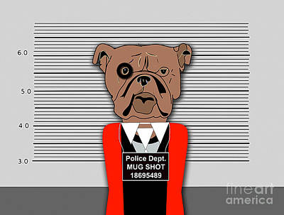 Dogs Mixed Media - Guilty As Charged by Marvin Blaine
