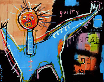 Painting - Guilty by Jeff Hughart