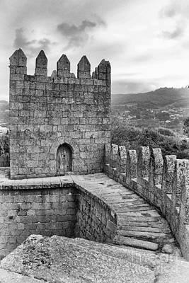 Medieval Castle Photograph - Guimaraes Castle Interior by Jose Elias - Sofia Pereira