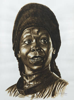 Guinan Star Trek Tng Art Print