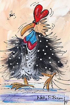 Guinea Fowl Art Print