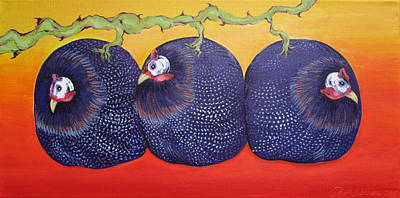 Painting - Guinea Grape Vine by Jeff Seaberg