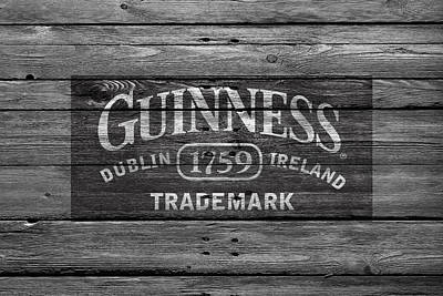 Saloon Photograph - Guinness by Joe Hamilton