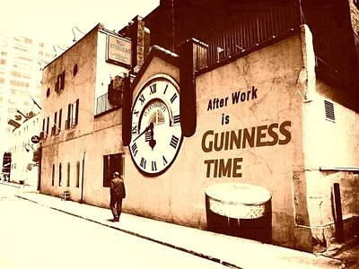 Guinness Time Art Print