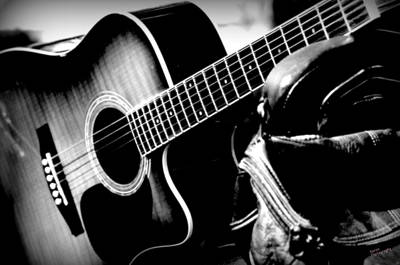 Photograph - Guitar 2 by Karen Kersey