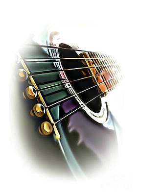 Photograph - Guitar 2 by Walt Foegelle