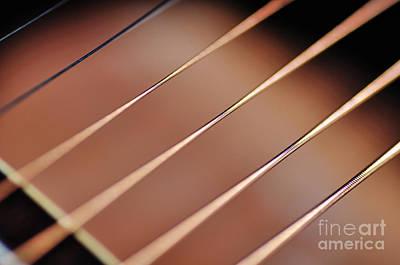 Photograph - Guitar Abstract 2 by Kaye Menner