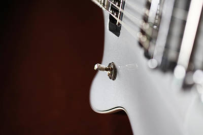 Gretsch Photograph - Guitar Abstract by Karol Livote