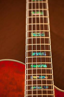 Photograph - Guitar Abstract Mk by Karol Livote