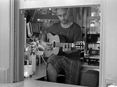 Photograph - Guitar And Coffee by Luis Esteves