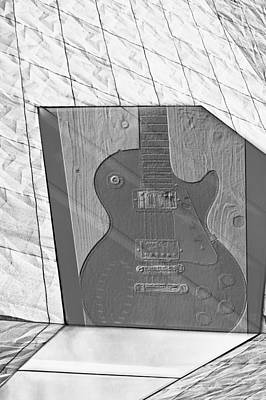 Photograph - Guitar And Lines by Susan Stone