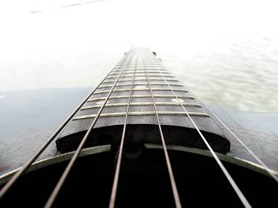 Photograph - Guitar And Water by Daniel Chowdhury