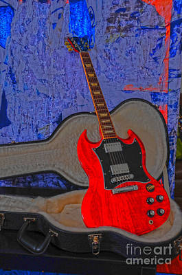 Photograph - Guitar Art by Randi Grace Nilsberg