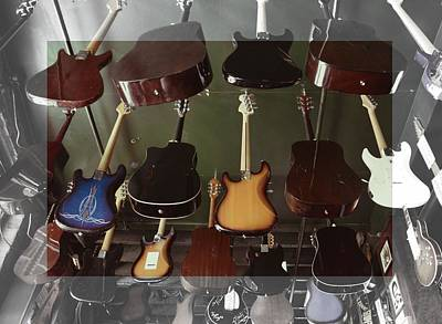 Photograph - Guitar Collection by JAMART Photography