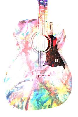 Photograph - Guitar Harmony IIi by Athena Mckinzie