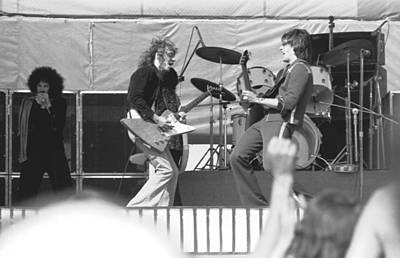 Photograph - Guitar Jam At Day On The Green In Oakland 1976 by Ben Upham