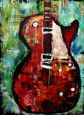 Guitar Painting -   Guitar by Kayla Mallen