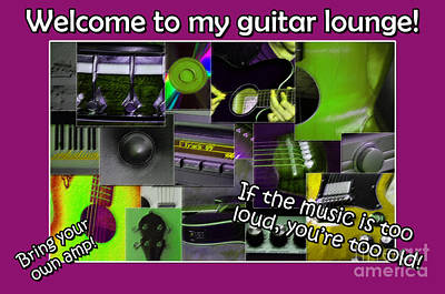 Photograph - Guitar Lounge  by Randi Grace Nilsberg