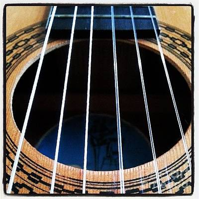 Guitar Photograph - #guitar #music #musician by YoursByShores Isabella Shores