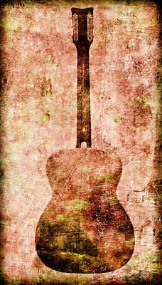 Photograph - Guitar Notes by Athena Mckinzie