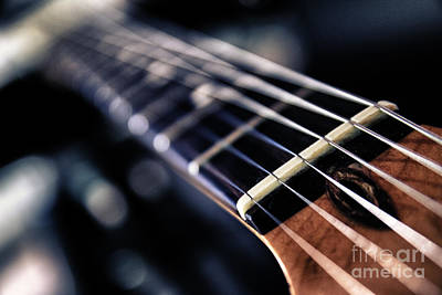 Guitar Strings Art Print by Stelios Kleanthous