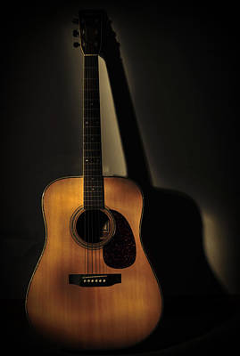 Classic Audio Player Photograph - Guitar by Terry DeLuco