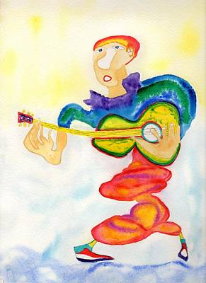 Painting - Guitar Unwind by Jim Taylor