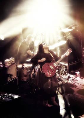 Guitarist Brittany Howard - Alabama Shakes In Concert Art Print