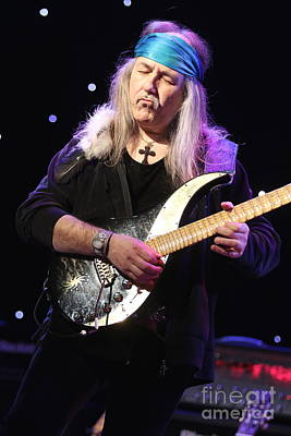 Photograph - Guitarist Uli Jon Roth by Concert Photos