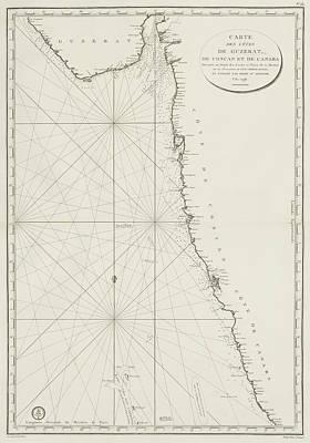 Gujarat Coast Art Print by British Library